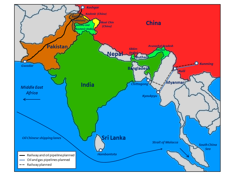 China pakistan and india disputes political challenges gumiabroncs Gallery